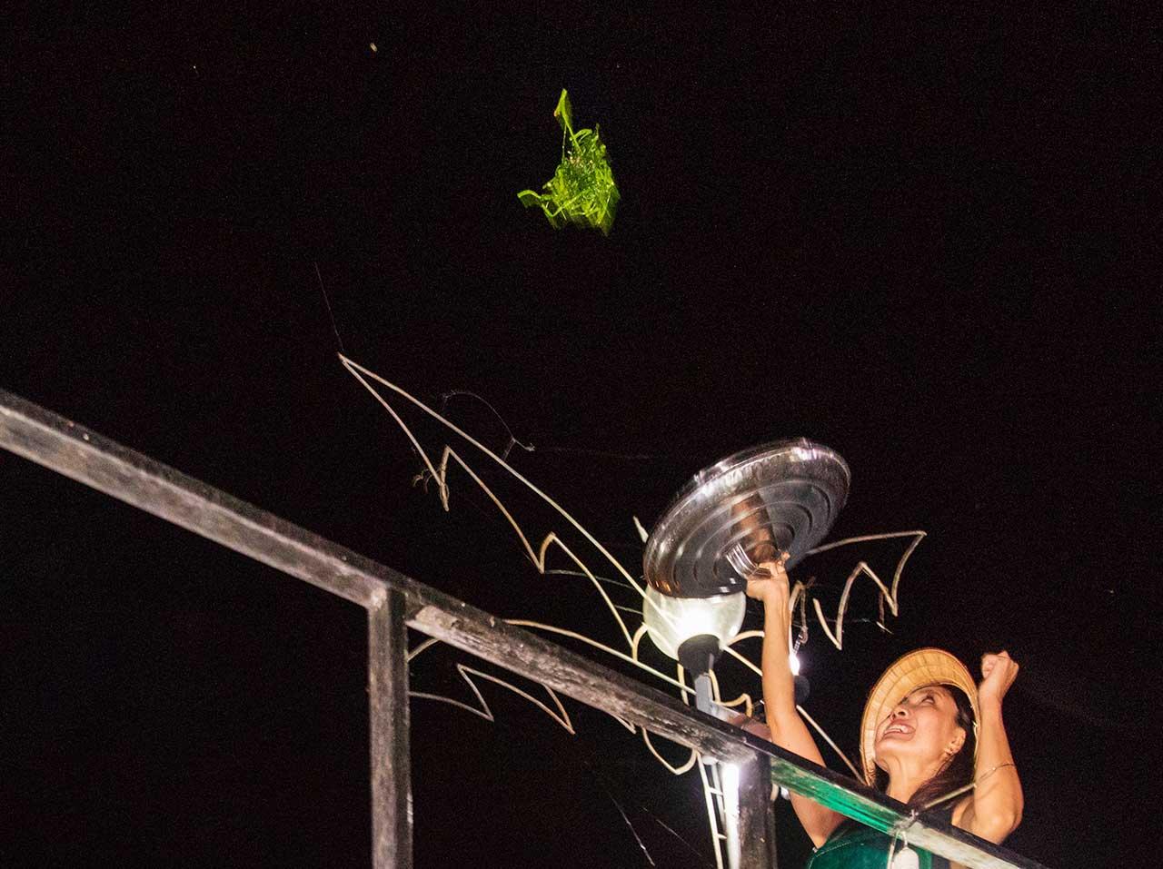 サムローツアーと空飛ぶ空芯菜