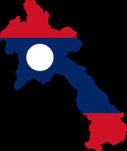 ラオス地図 マップ
