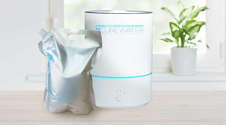 CURE WATER 30-60㎡程度のお部屋で据え置き型の専用噴霧器
