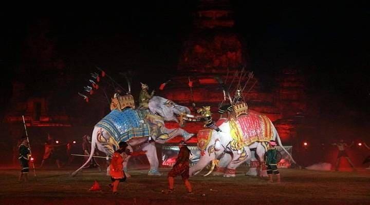 アユタヤ世界遺産祭り